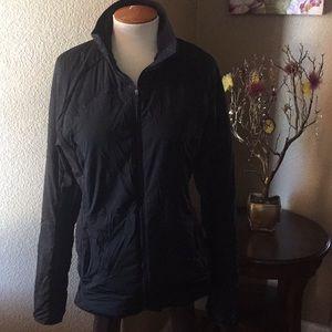 Lululemon black light jacket size 12